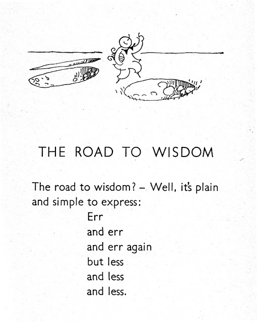 [Image] The Road to Wisdom, Piet Hein