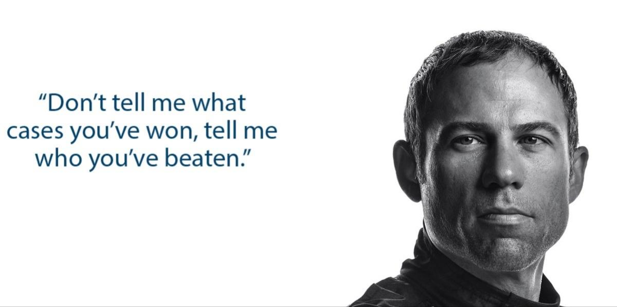 [Image] Inspiring quote by Michael Avenatti