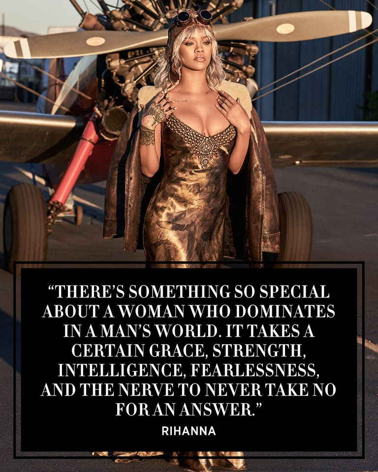 """THERE'S SOMETHING SO SPECIAL ABOUT A WOMAN."" Rihanna[768×960]"