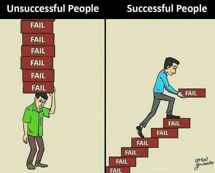 [Image] Use the failures to build your empire