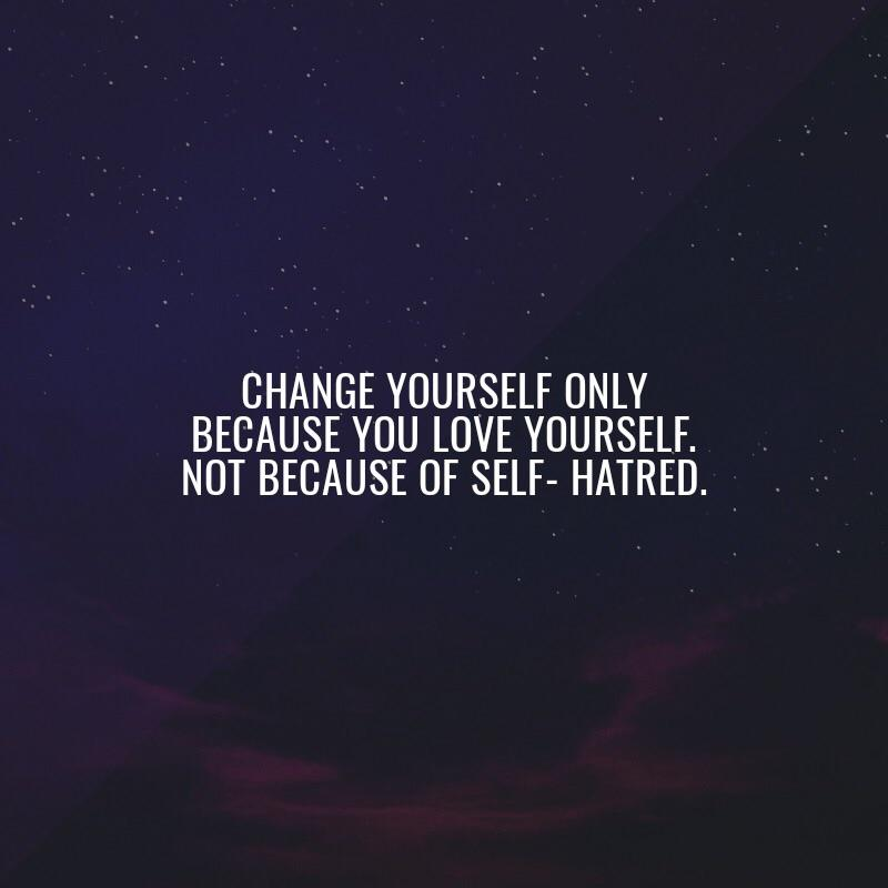 [IMAGE] Love yourself.