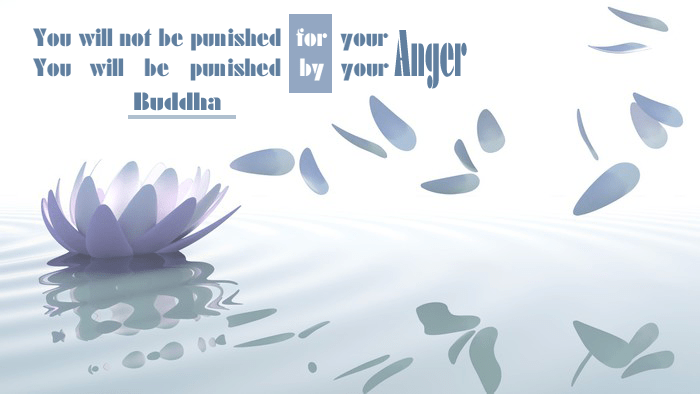 You will not be punished for your anger… by Buddha [700×394] [OC]