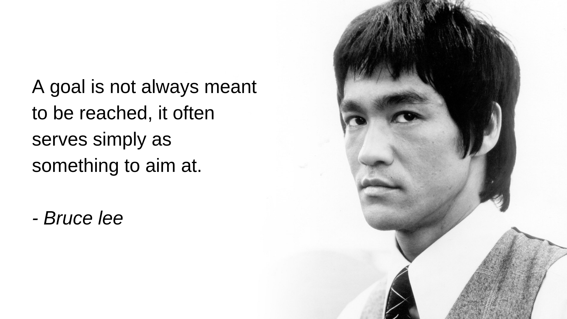 [Image] A goal is not always meant to be reached