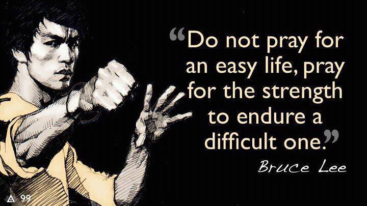 [Image]Some words of advice from Bruce Lee