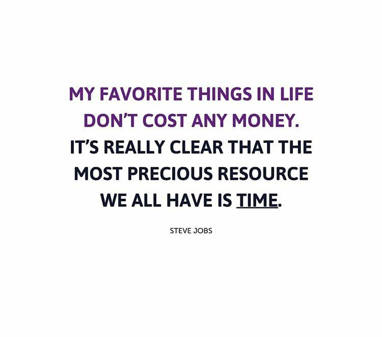 Its really clear that the most precious resources of we all have it's time – Steve Jobs ( 750 × 663 )