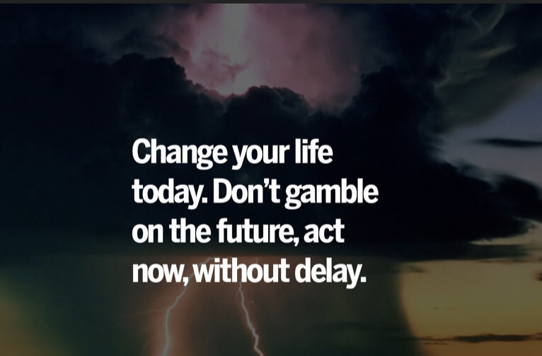 [Image] Don't Gamble on uncertainty's make it happen now!
