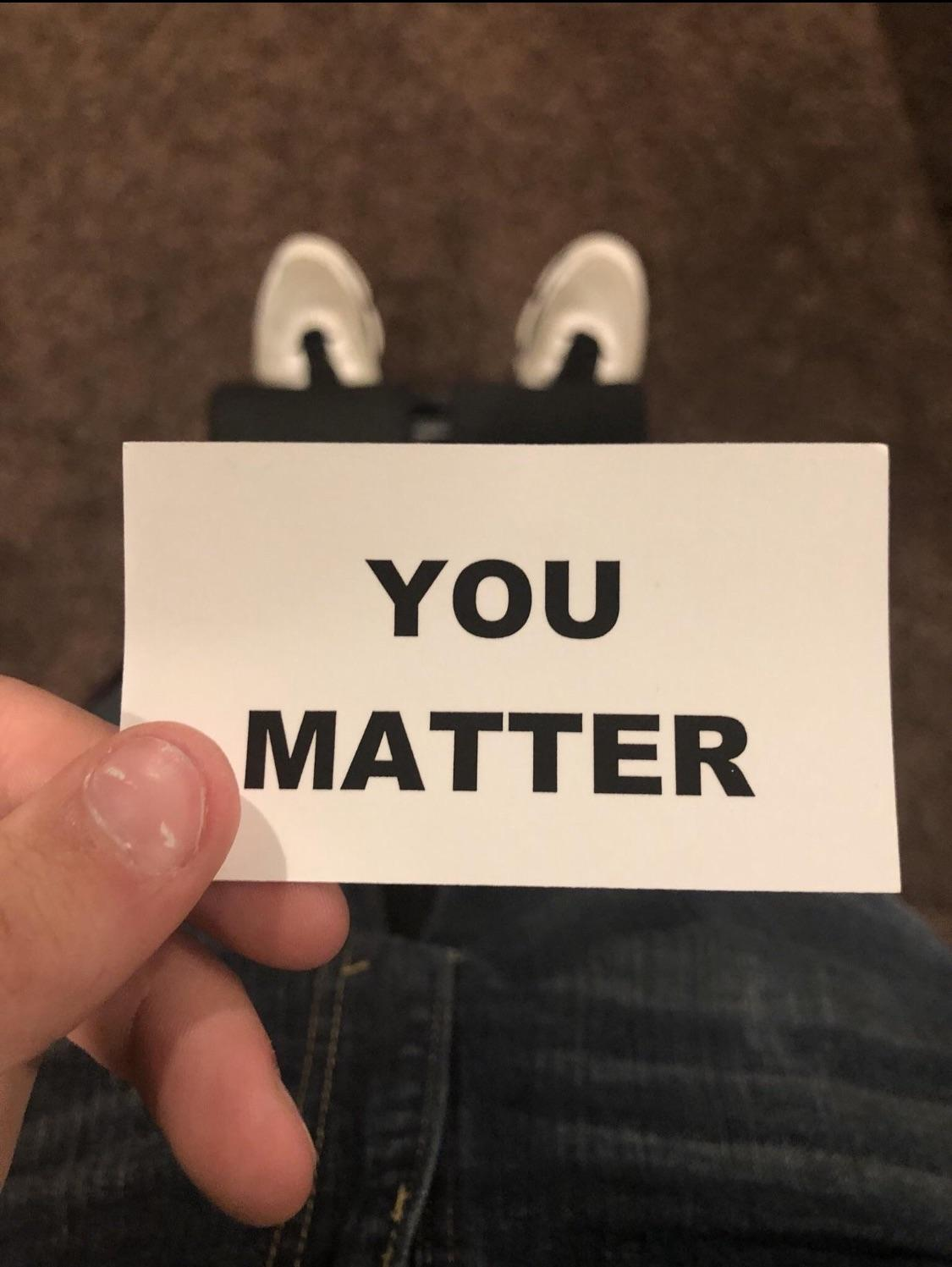 [Image] Some lady was handing these out during Halloween along with candy.