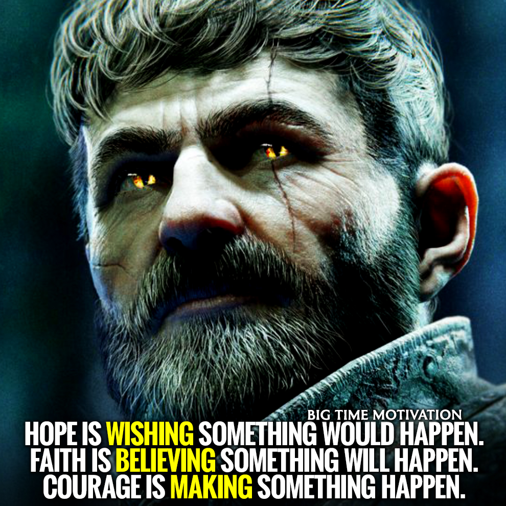 "[IMAGE] ""Faith is believing."" [OC]"