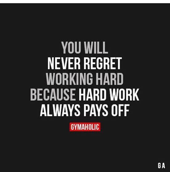 [Image] Hard Work Always Pays Off