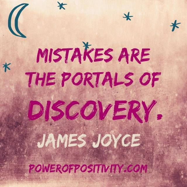 Mistakes are the portals of discovery [640×640]