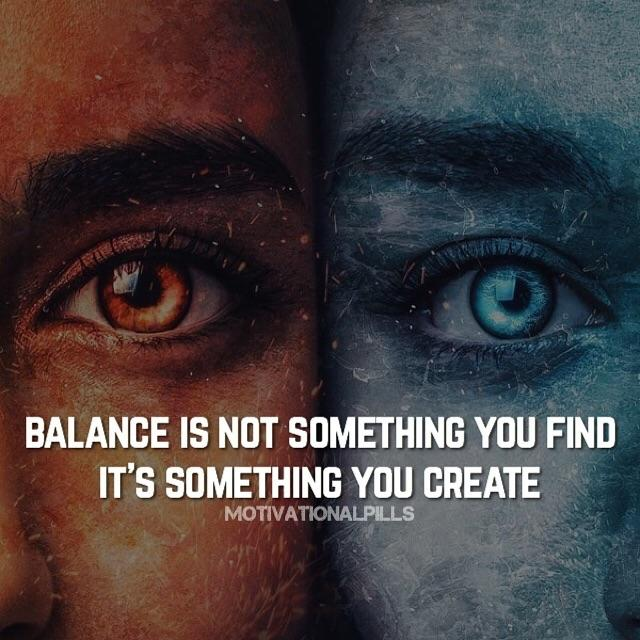 [image] Create your balance