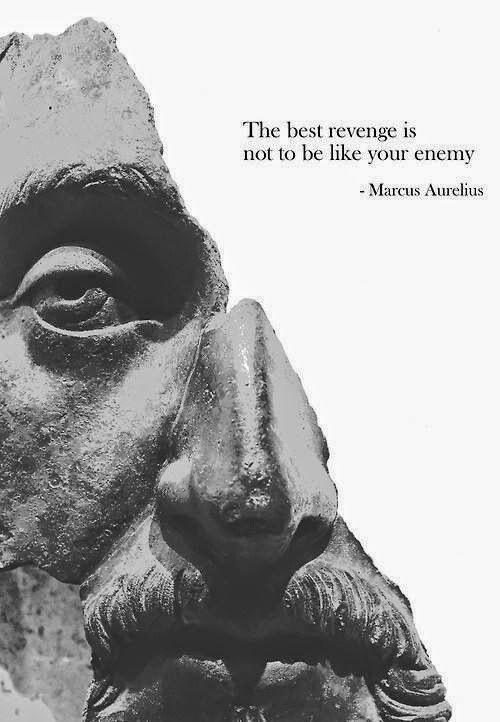 """""""Best Revenge"""" – Marcus Aurelius [500×722]"""