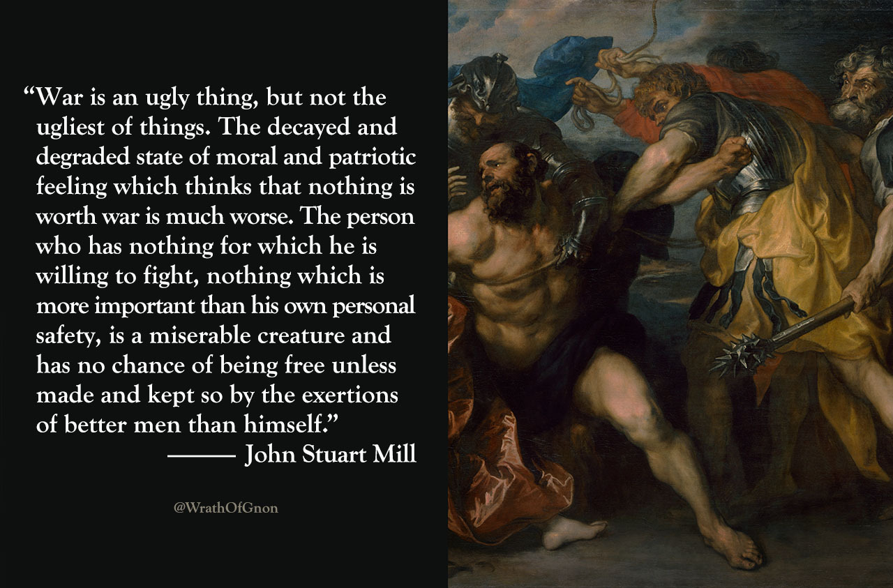 """""""The person who has nothing for which he is willing to fight… has no chance of being free unless made and kept so by the exertions of better men than himself."""" [900×1080]"""