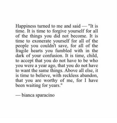 [image] Happiness turned to me and said