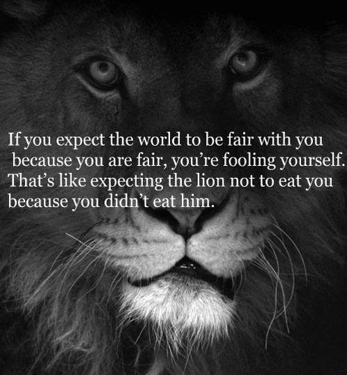 If you expect the world to be fair with you… by unknown [500×540]
