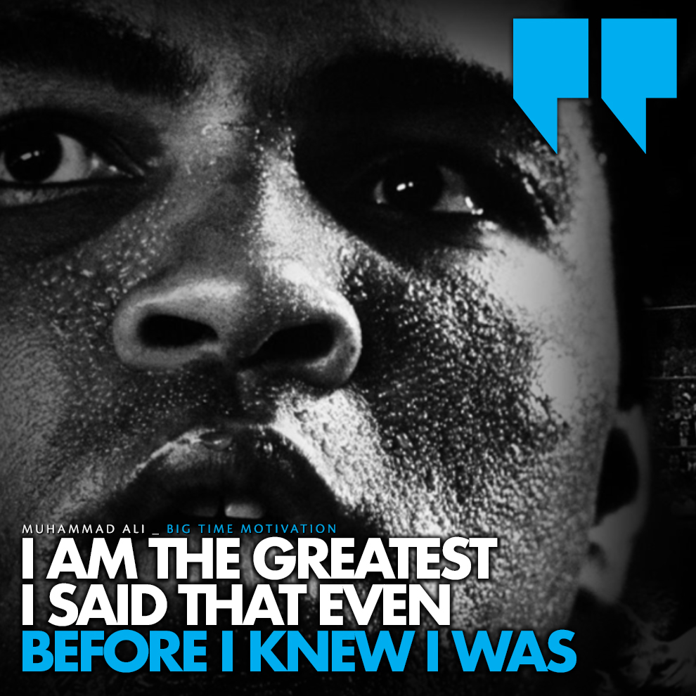 """Even before I knew.."" Muhammad Ali [990×990] [OC]"