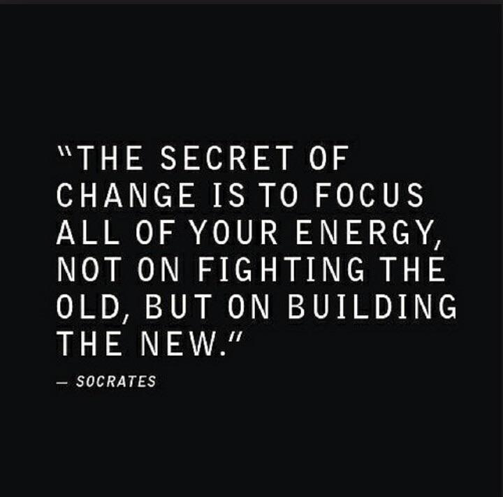 [Image] Let the past be the past, don't let it spoil today. Make it a great day!
