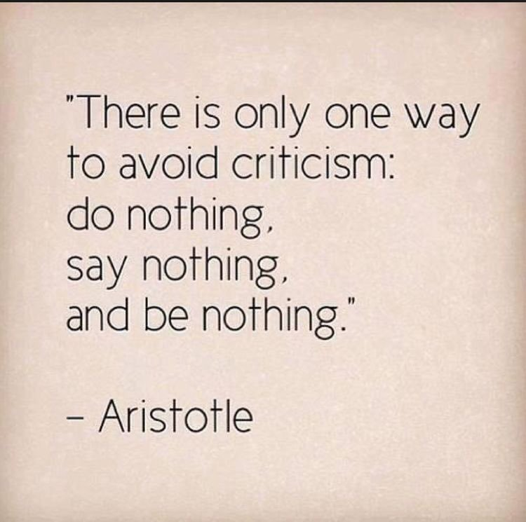 [Image] Criticism also helps you grow if it challenges your beliefs rather than dismisses you as a person.