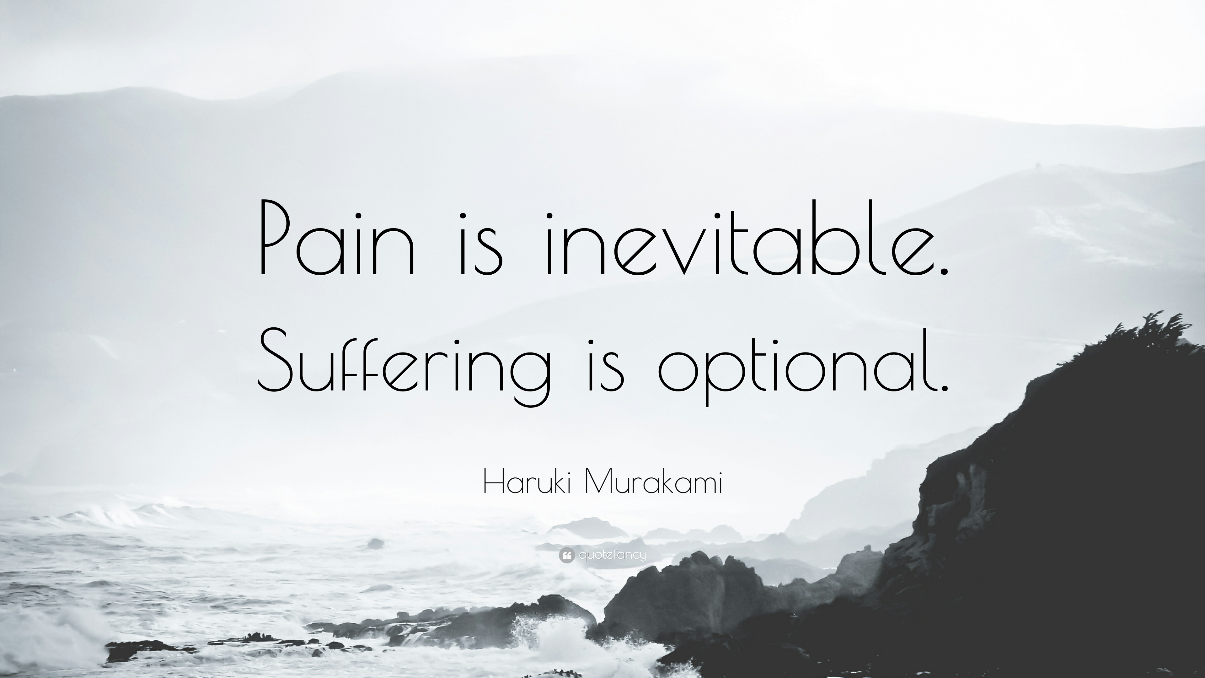 [Image] Pain is Inevitable, suffering is optional