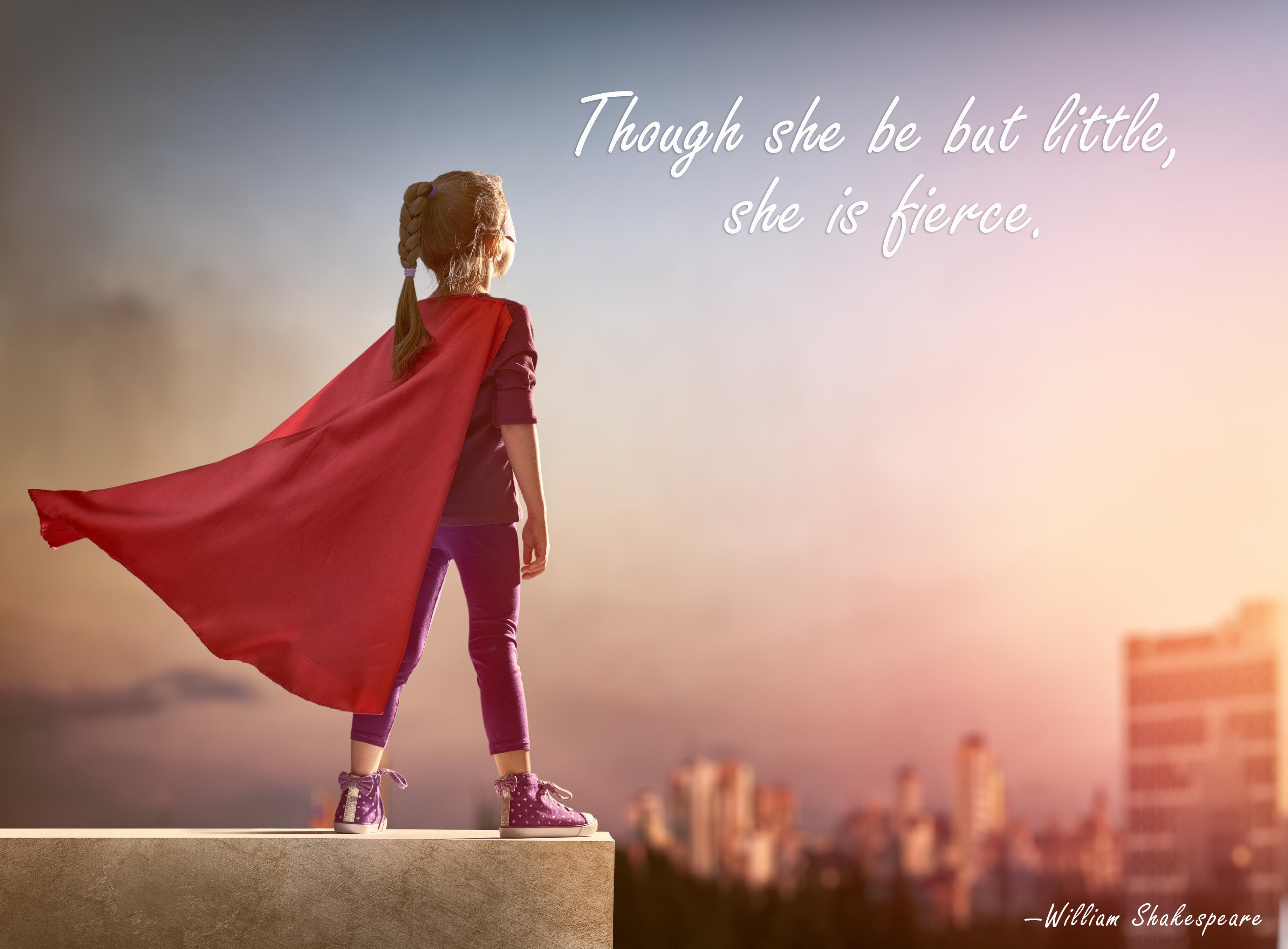"""Though she be but little, she is fierce.""—William Shakespeare [3676×2709] [OC]"