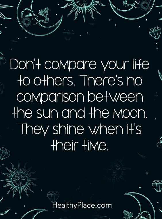 [Image] Don't compare.