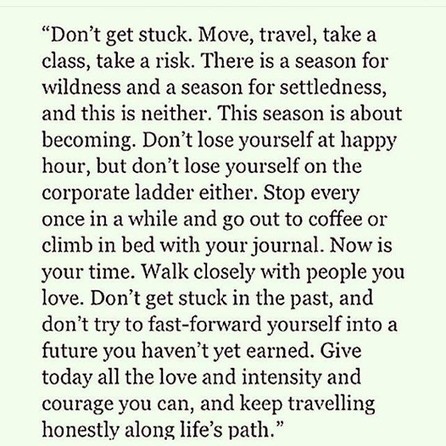 [image] Don't get stuck