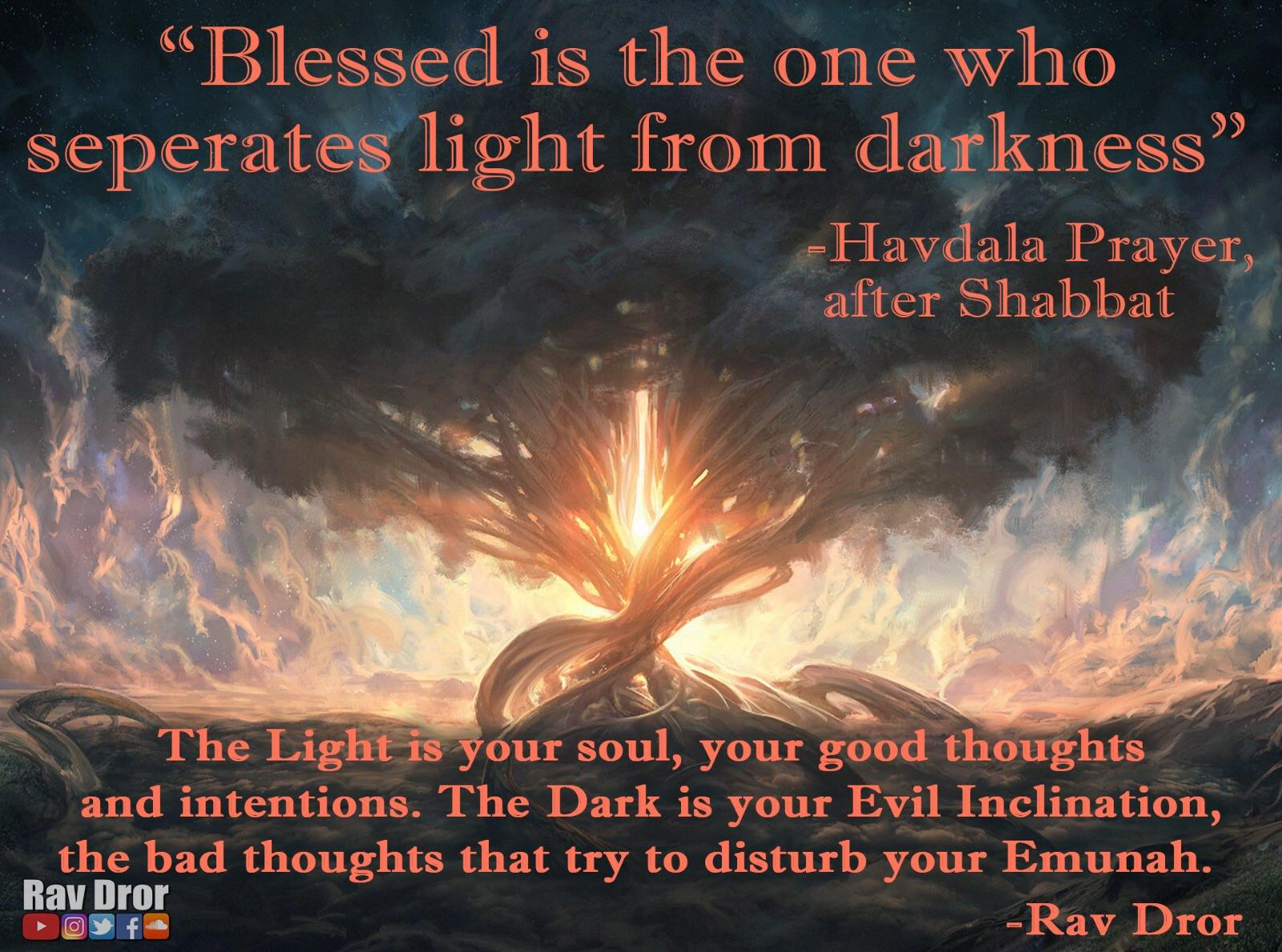 """Blessed is the one…"" -Rav Dror [1920•1426] OC"