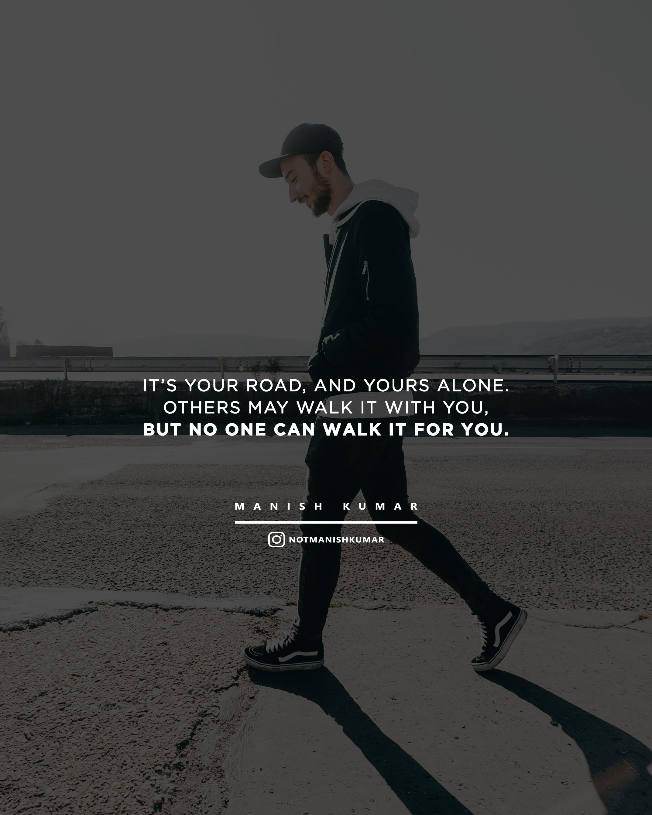 [Image] Learn to walk alone