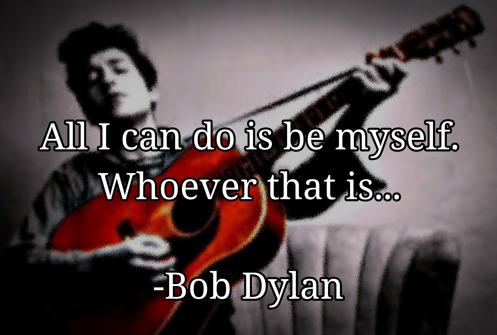 All I can do… – Bob Dylan [1600×1080][OC]