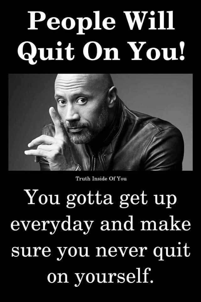 [Image] Never quit on yourself