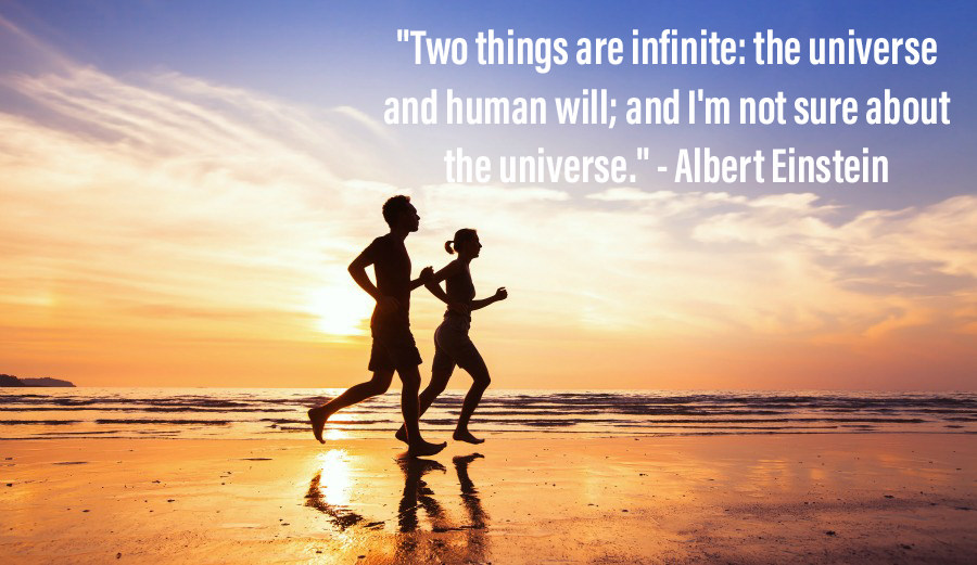 [Image] Einstein on human will