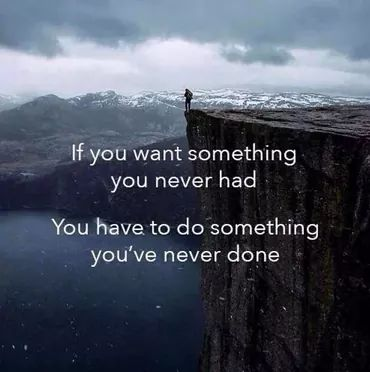 [Image] Do something you've never done