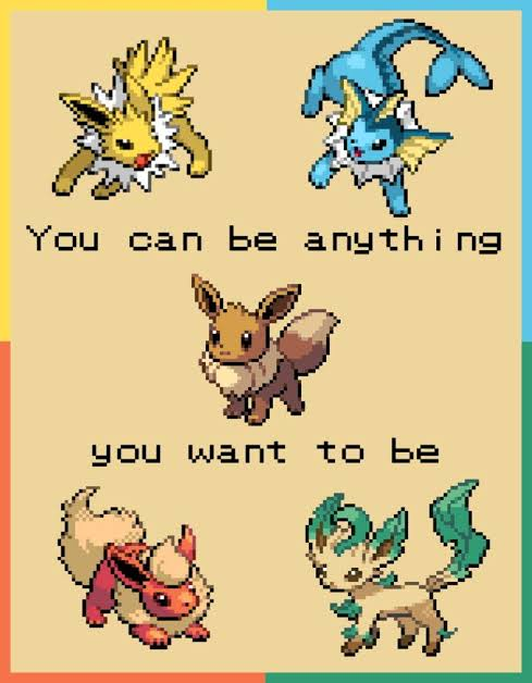 [Image] You can be anything you want to be, choice is yours :)