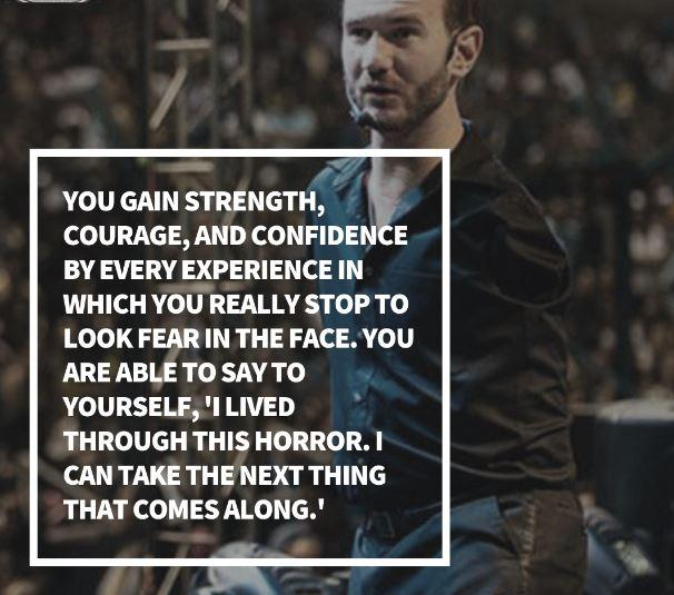 [Image] You gain strength, courage and confidence