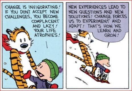 [image] Change Is Invigorating