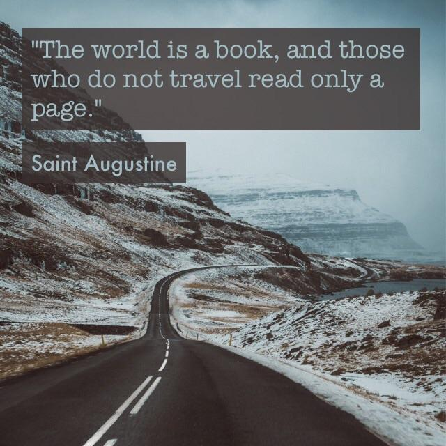 """The world is a book"" – Saint Augustine [640×640]"