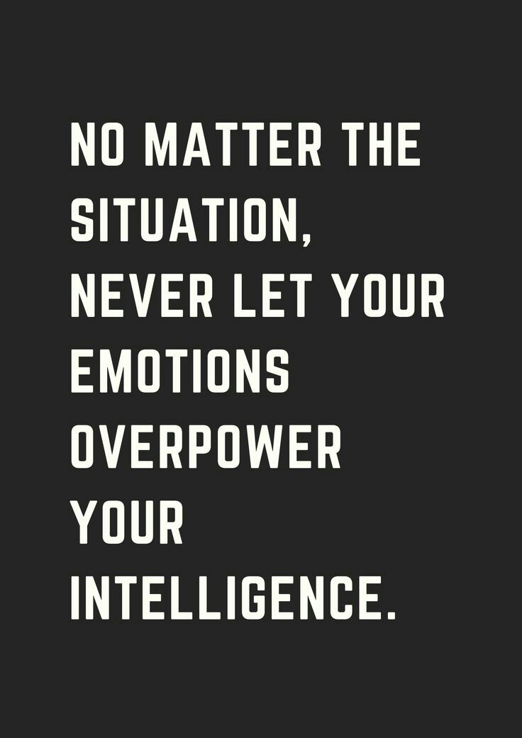 [Image] Intelligence and Emotions.