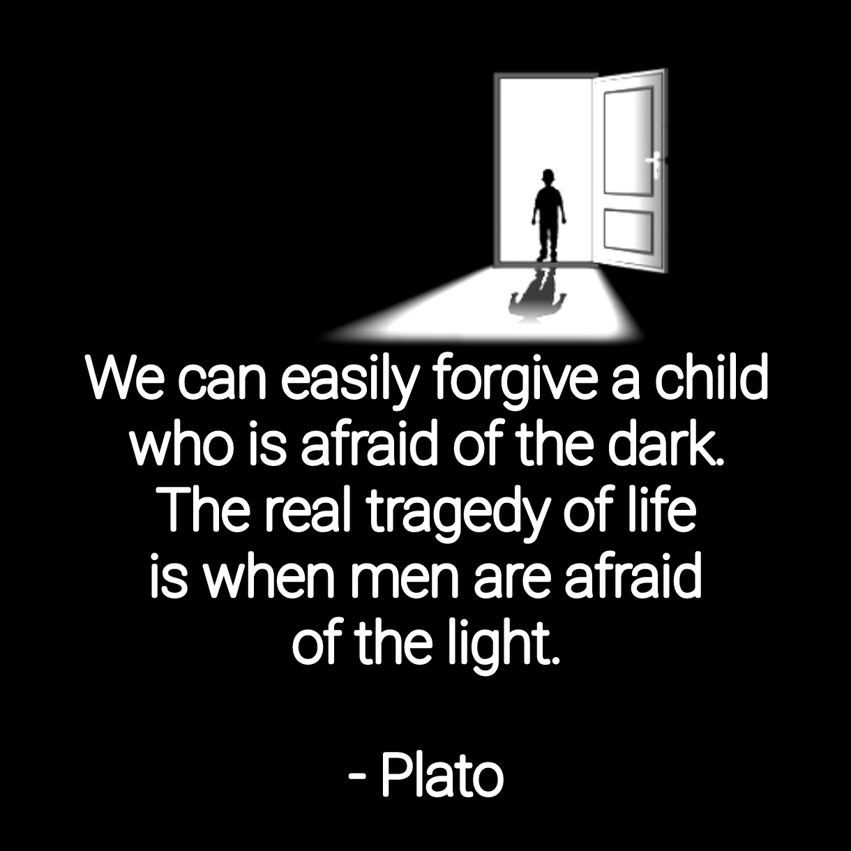 """[…]The real tragedy of life…"" – Plato [1220×1220][OC]"