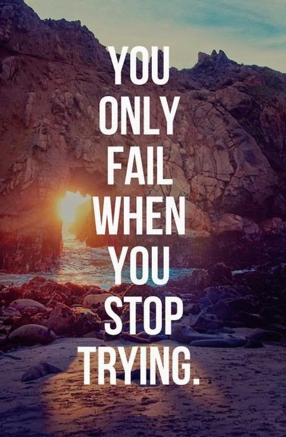 [Image] Don't stop trying
