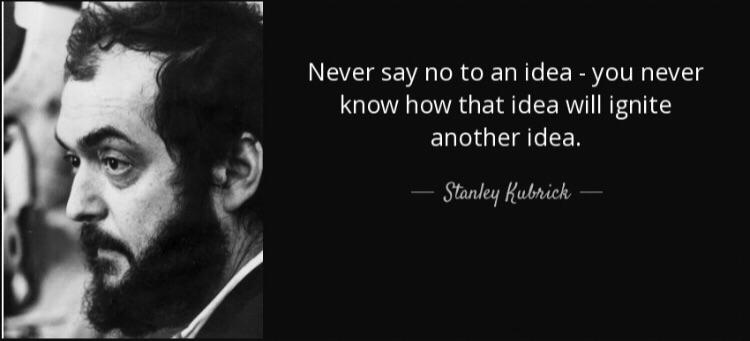 [Image] Never day no to an idea!
