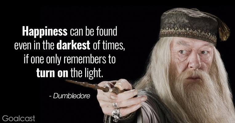 [Image] Wisdom from Dumbledore