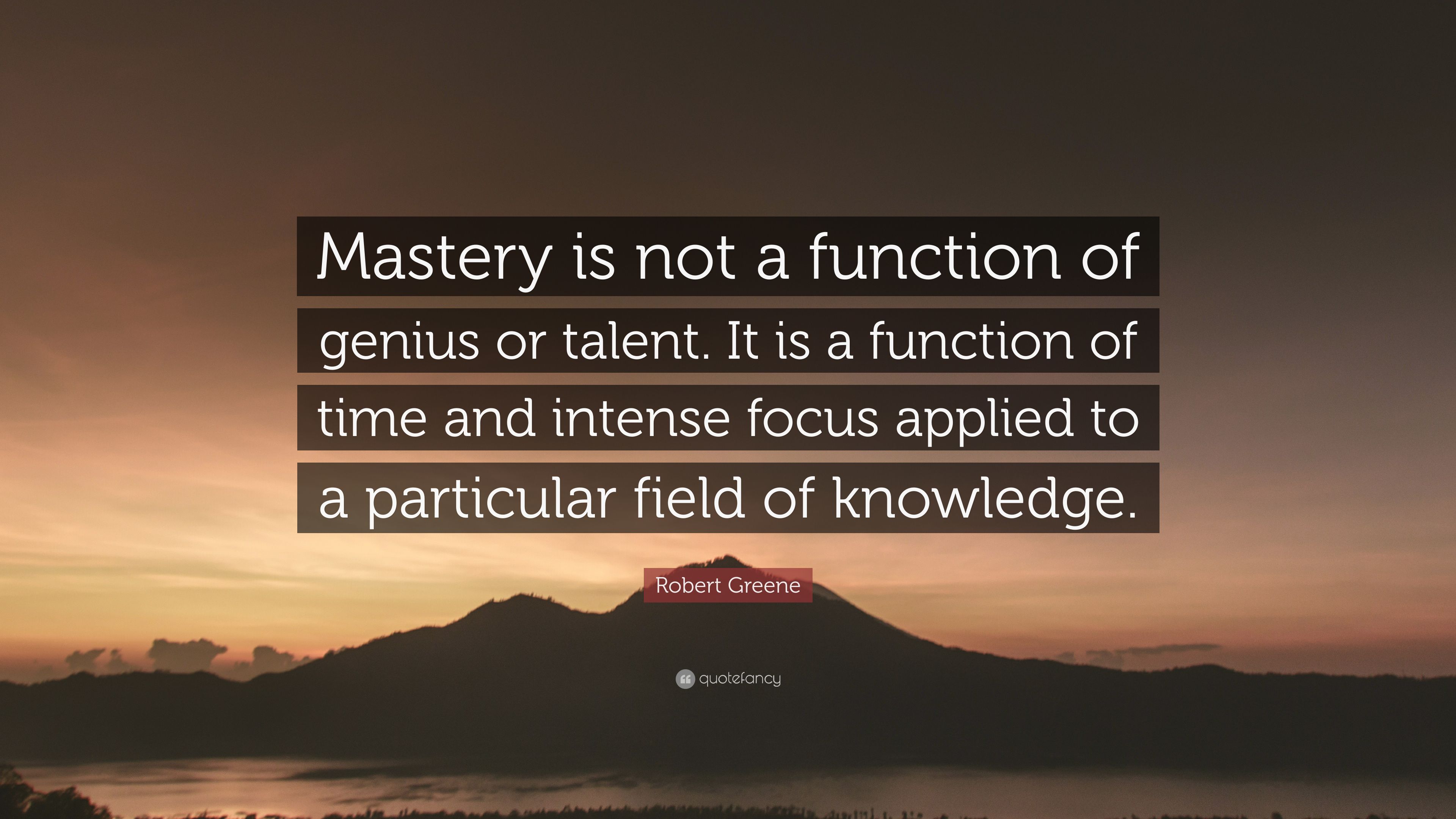 [Image] What is mastery?
