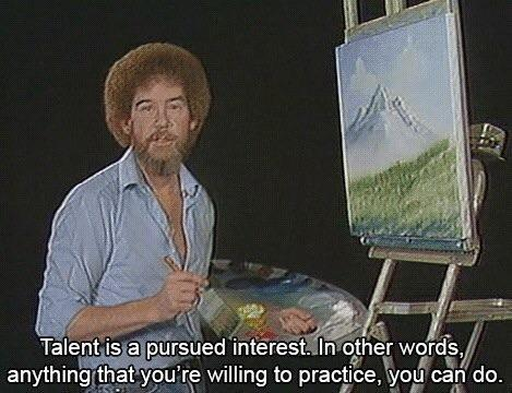 [IMAGE] Bob Ross' Advice