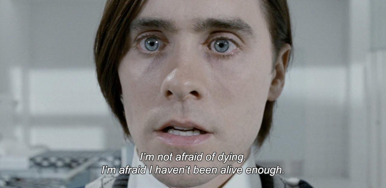 « I'm not afraid of dying. » – Mr. Nobody (2009) [1280 x 624]