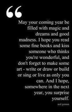 [Image] May this year be your year 🎊🍾🎉