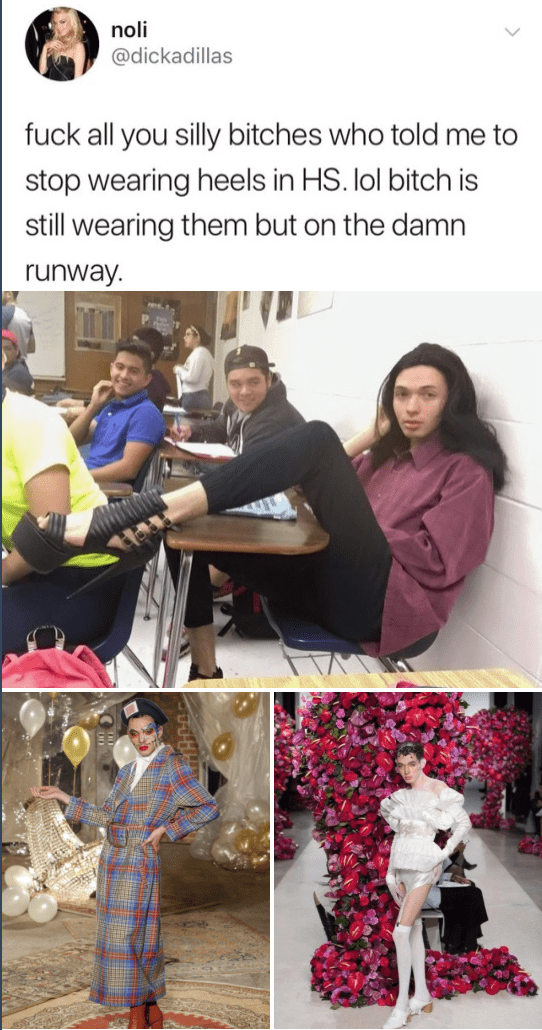 From getting bullied in high school to modeling for Vogue [Image]