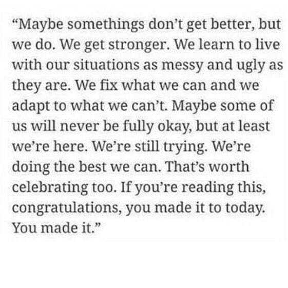 [Image] We made it to today.