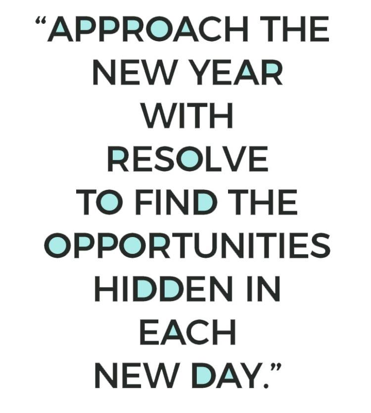 [Image] Approach the new year right