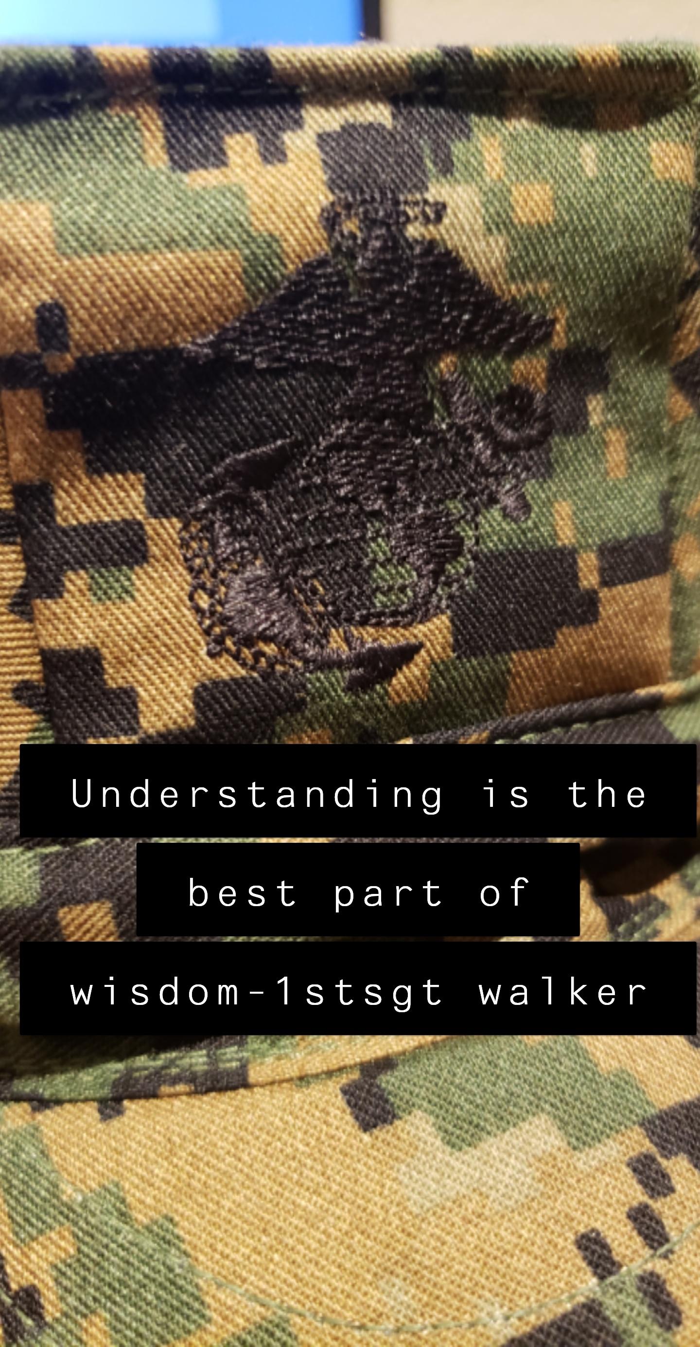 1stsgt walker