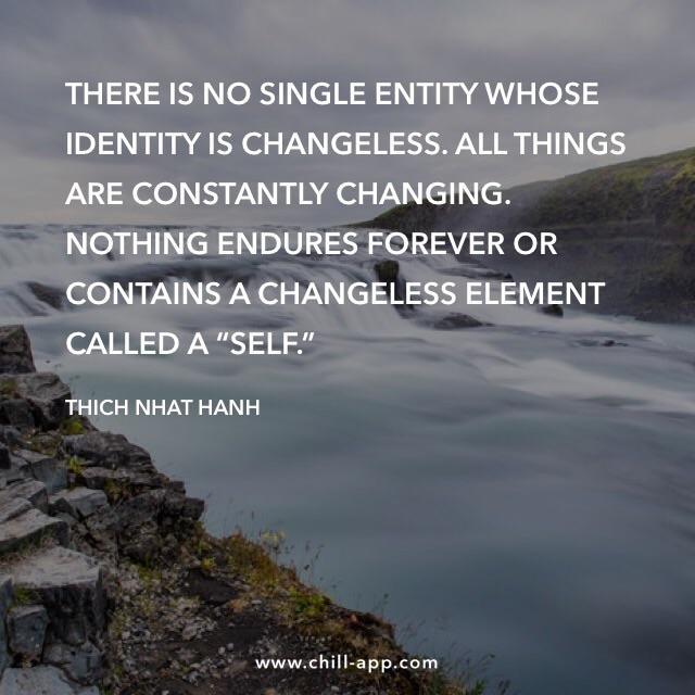 There is no single entity whose identity is changeless. – Thich Nhat Hanh [640×640]